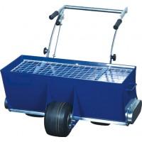 Распределитель - дозатор топпинга трёхколёсный